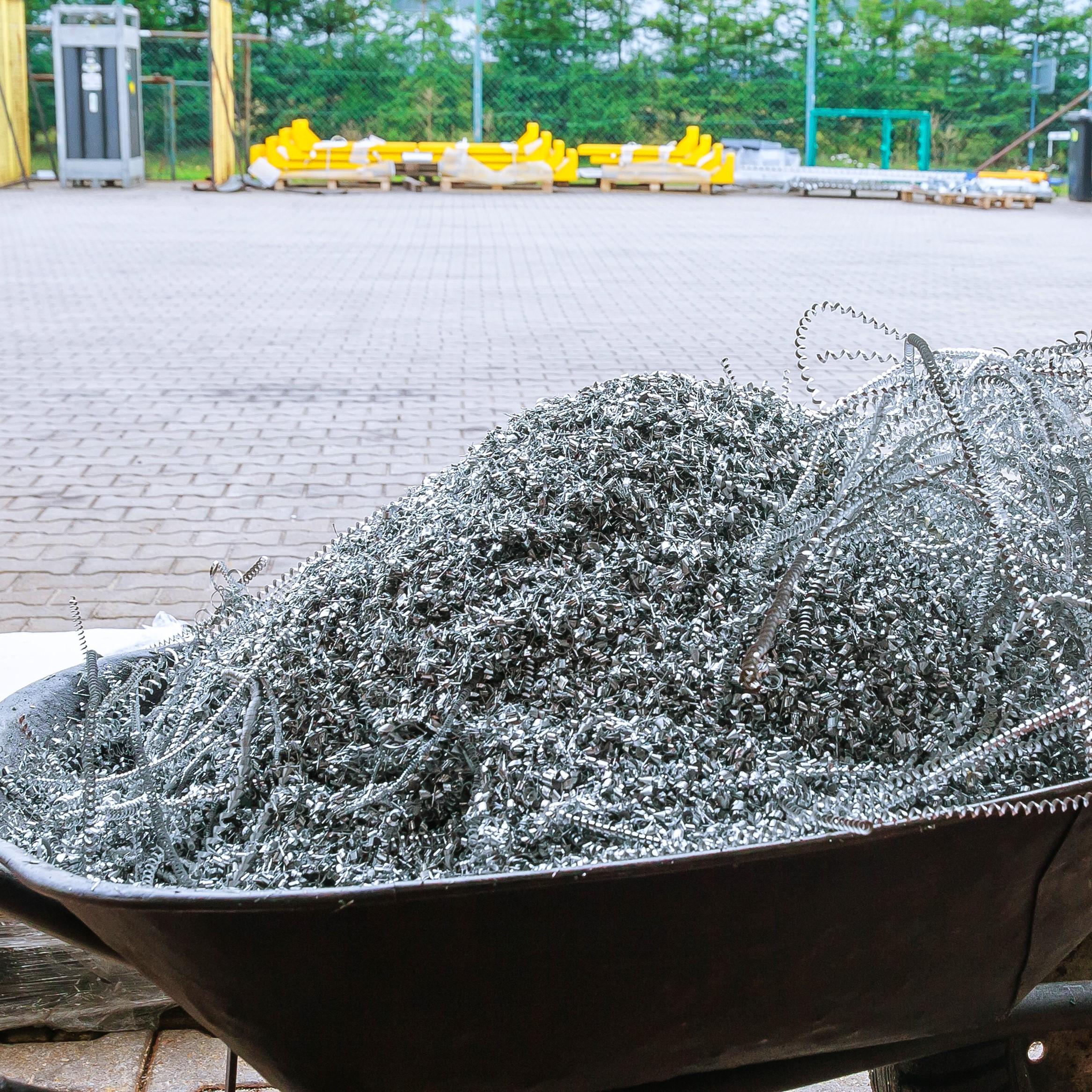 Екстракция при рязане на алуминий