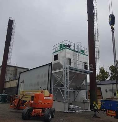 Филтриране на димни газове на котли на биомаса