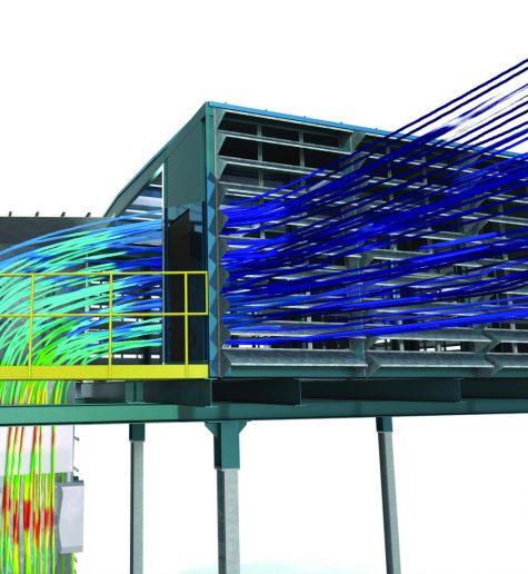 CFD оптимизация на изсмукващи системи, промишлени филтри